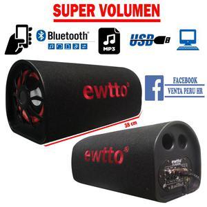Equipo Parlante Bluetooth Radio a corriente para Pc,Mp3, TV