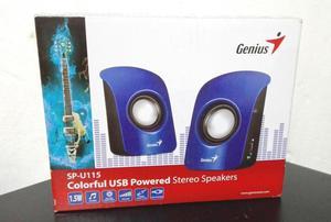 Parlantes Genius Multimedia SPU115 Potentes