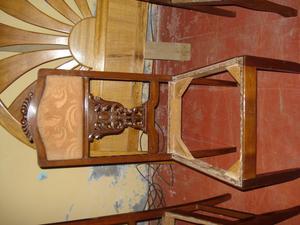 Antiguas sillas 9 de hierro para jardin posot class - Sillas antiguas de madera ...