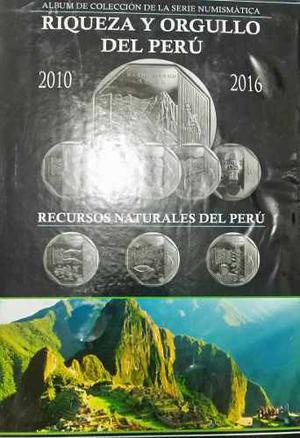 Álbum De Colección Y Las 26 Monedas Peruanas