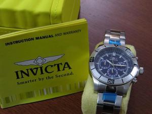 Elegante reloj Invicta para hombre