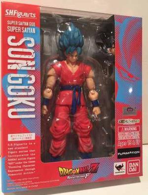 Son Goku God Ssj Dragon Ball Z Sh Figuarts En Stock