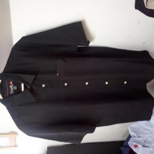 camisa negra QUIKSILVER