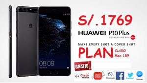 PLUS Huawei P10 PLUS, desde S/. en planes postpago Claro