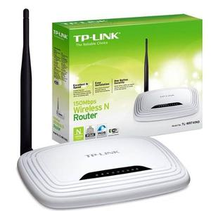 Router Wi-fi Lan 4 Puertos 150mbps Tp-link Td-wr741nd