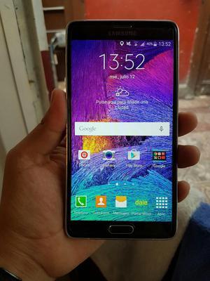 Vendo Cambio Samsung Galaxy Note 4 Libre