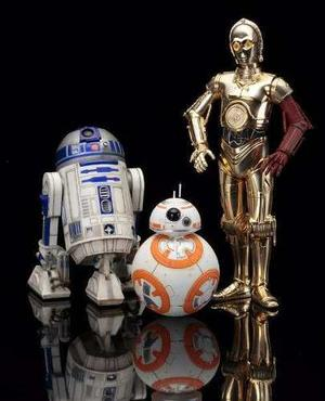 Kotobukiya Star Wars Artfx C3po & R2d2 + Bb8