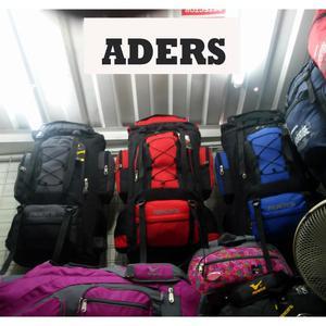 Mochila Aders para viajes o viajeras, Mochilera, campera