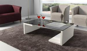 Mueble Mesa De Centro Modernas De Melamina