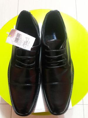 Zapato Hombre Negro Stevens Talla 40.