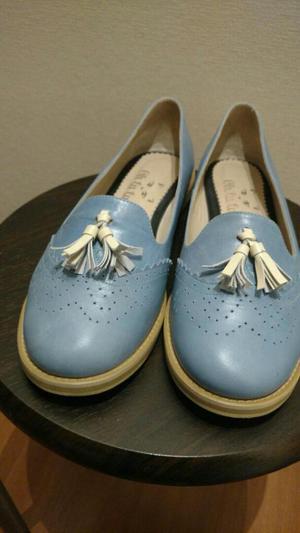 Zapatos de Cuero Talla 37