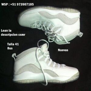 remato zapatillas Jordan ovo a 150 soles fijos, no sean