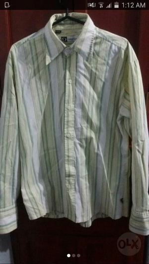 Camisa Oasis Slim Fit Dunk Quik Rip