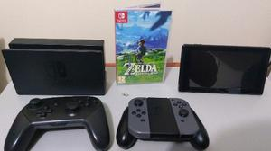 Nintendo Switch, Joy Cons, Mando Pro, 7 Juegos