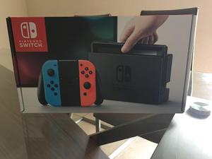 Nintendo Switch Neon Blue And Neon Red!!!