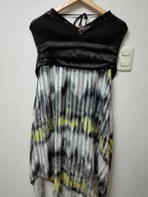 Vestido de Noche Elegante Talla M