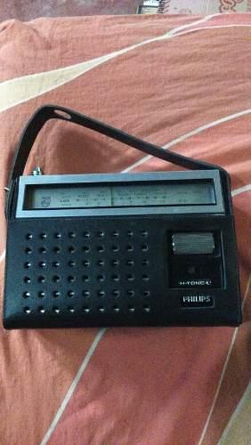 Antigua Radio Philips Bien Conservado Funcionando