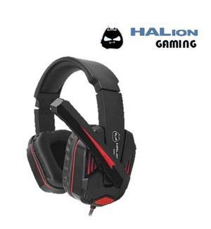 Audífono Halion Ha-x50 Con Micrófono Gaming Led