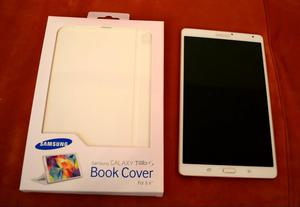 Book Cover para Samsung Galaxy Tab S de 8.4 en color Blanco
