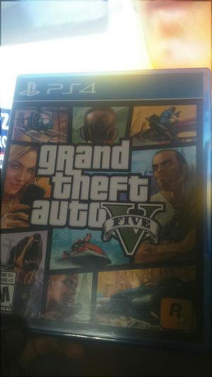 Juego Ps4 Grand Theft Auto V a 60 Soles