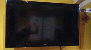 Vendo Televisor 42 Aoc Lcd con Rack