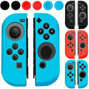 Funda Antideslizante De Silicona Para Joy-con Switch - Color