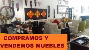 MUEBLES USADOS,COMPRO TODO Y VENDEMOS MUEBLES USADOS A