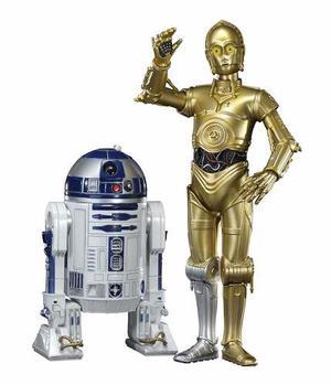 Star Wars Kotobukiya Artfx C3po & R2d2 Nuevo