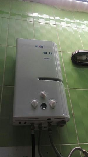 Terma a Gas de 10 Lts. X Min Marca Sole