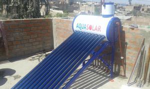 Calentador solar a tubos de vacio de 150 posot class for Termo solar precio