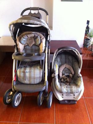 Coche y Silla para Auto/ Portabebé Graco
