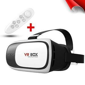 Vr Box 2.0 Lentes Realidad Virtual 3d Mando Bluetooth Gratis