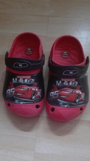 Zandalias Crocs Rayo Mcqueen Cars Disney