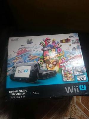 Nintendo Wiiu 32gb Flasheado Cbhc Haxchi Disco Duro 250gb