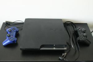 REMATO PS3 CON DOS MANDOS Y FIFA 17 A 550 SOLES !!!