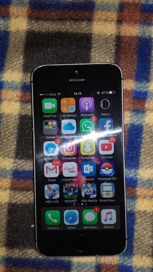 Vendo Mi iPhone 5S Libre de Cuenta