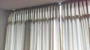 Cortina de tela de techo a piso posot class - Telas para techos ...