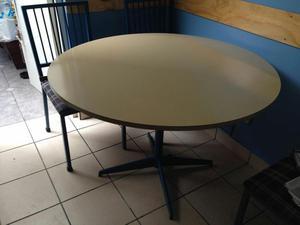 Vendo mesa de comedor con tablero redondo y pata posot class for Tablero redondo para mesa