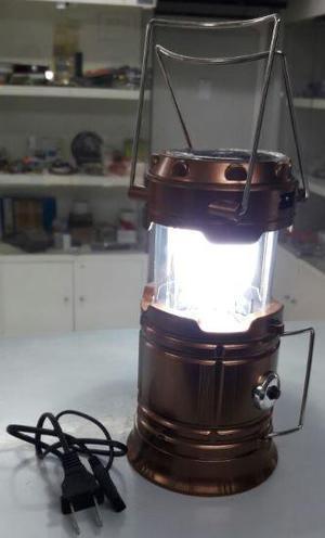 LAMPARA LINTERNA 2 EN 1