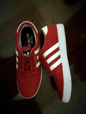 Adidas Rojas Talla 43 Originales
