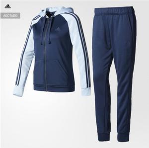 Buzo Deportivo Adidas Mujer Talla S Azul