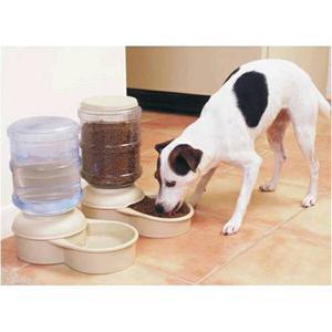 Dispensador Automático De Agua Y Comida Para Mascotas.