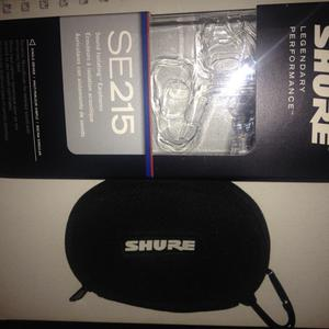 Earphones Shure Se215 Transparente
