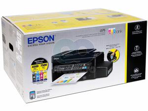 Impresora Multifuncional De Tinta Continua Epson L575