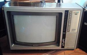 TELEVISOR DE COLECCION MARCA SONY TRINITRON 14 OPERATIVO