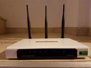 Tp-link 300 Mbps 3 Antenas Tl-wr941nd Rauter Inalambrico