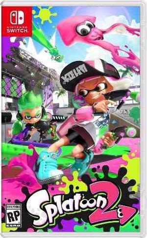 Juegos Digitales Nintendo Switch!! Splatoon  Nuevo