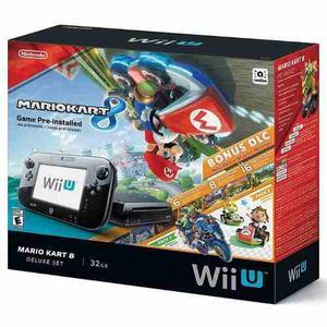 Nintendo Wiiu Mario Kart 8 Con Dlc Y Super Mario 3d World