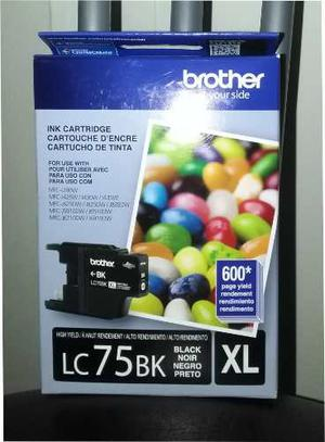 Tinta Brother Lc-75 Black 600pag.