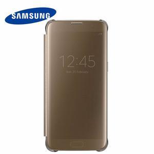 Clear S View Samsung Galaxy S7 S7 Edge Flip Cover Original